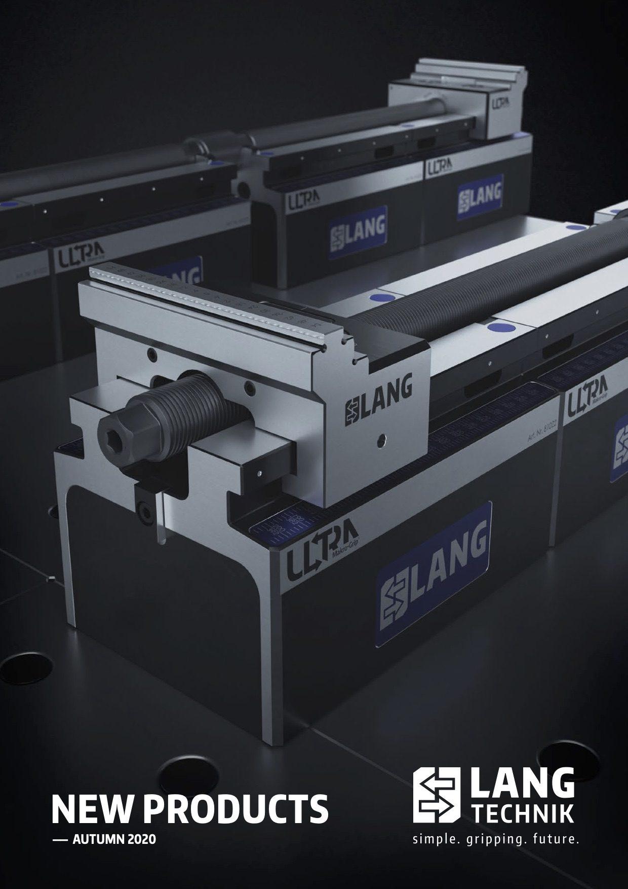 Lang Technik UK new products brochure